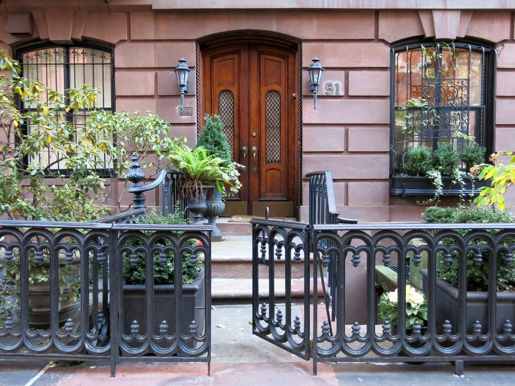 Brownstone In The West Village | © Spencer Means / Flickr
