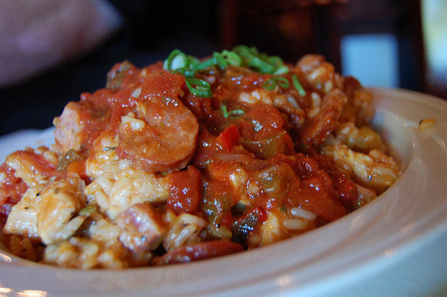 Chicken jambalaya at Russo's| © stu_spivack/Flickr