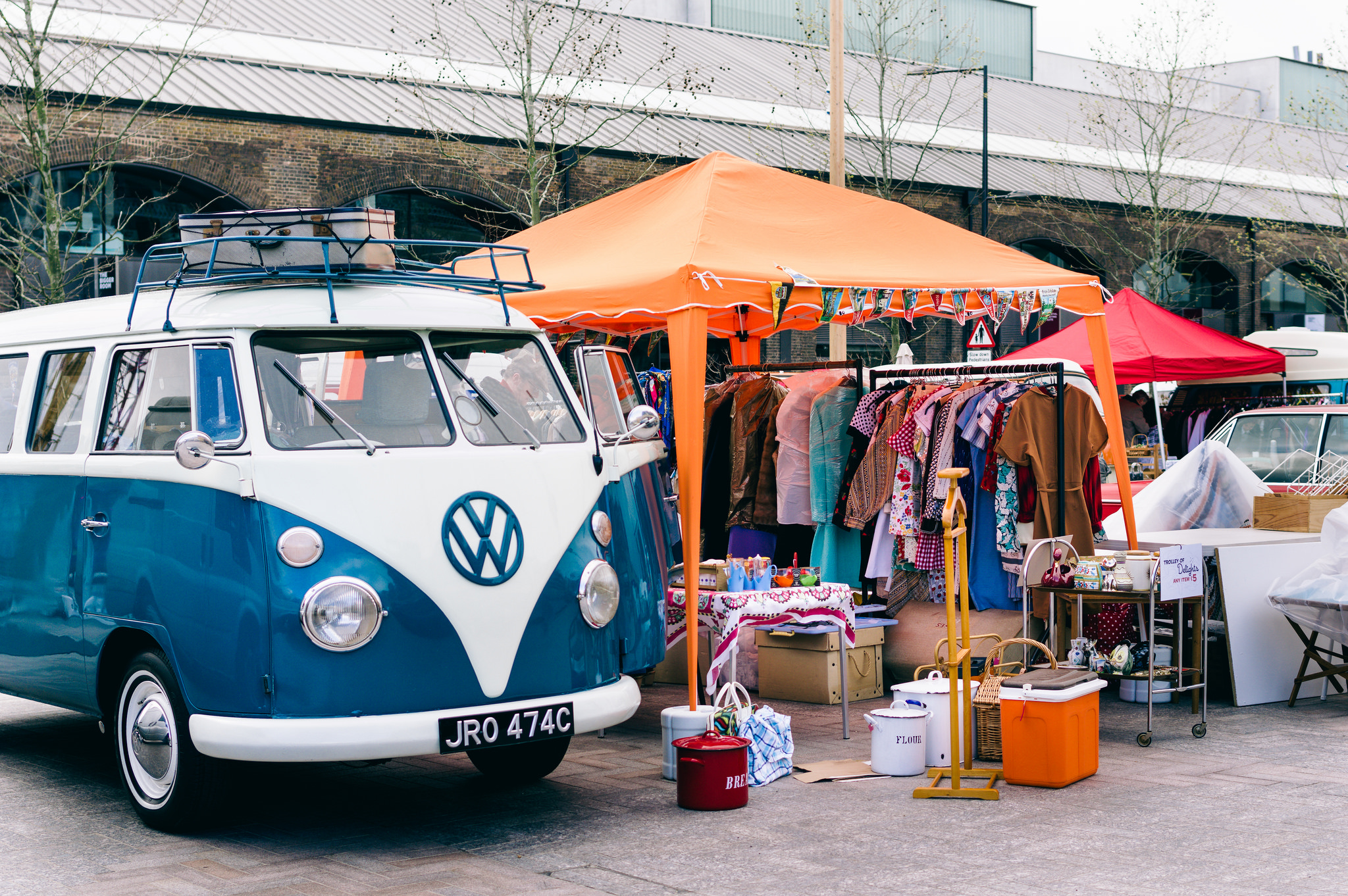 The Best Car Boot Sales For Vintage Clothing In London