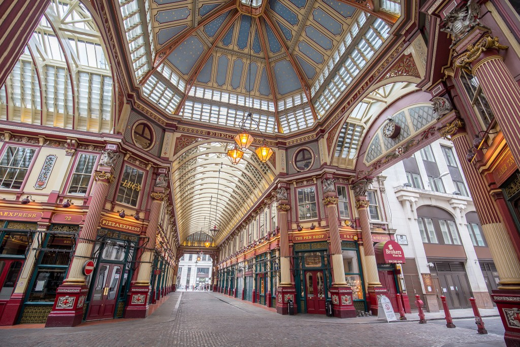 Leadenhall Market ©Laurie Nevay/Flickr
