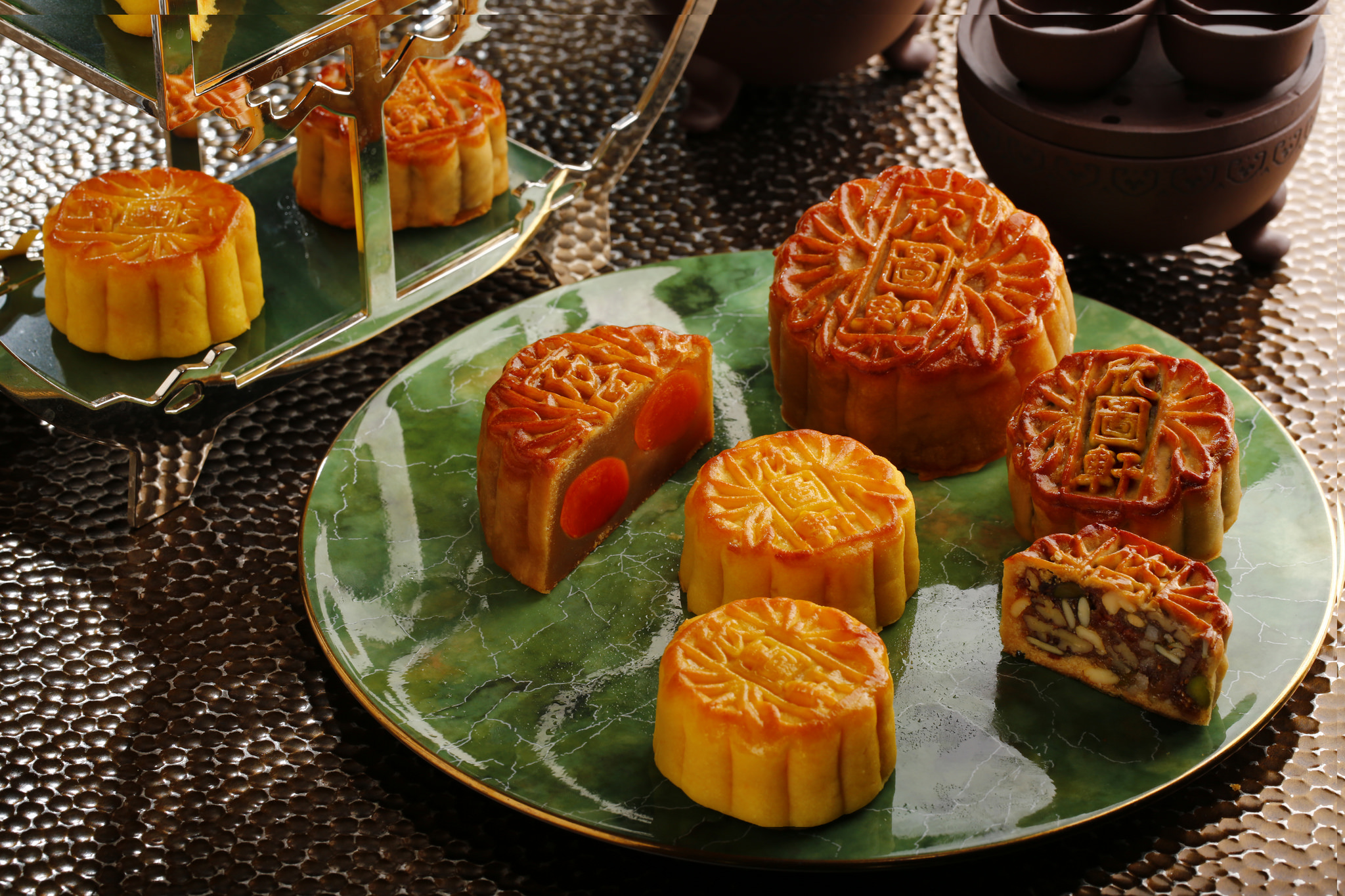 A selection of mooncakes | InterContinental Hong Kong/CC BY 2.0/Flickr