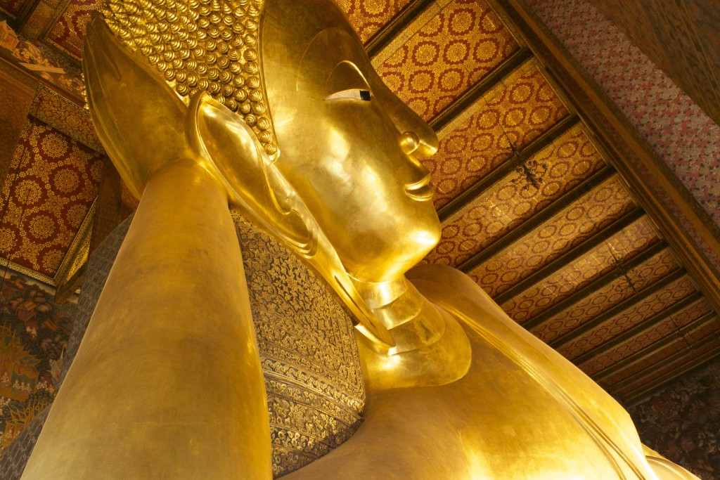 Reclining Buddha at Wat Pho/Courtesy of Kelly Iverson