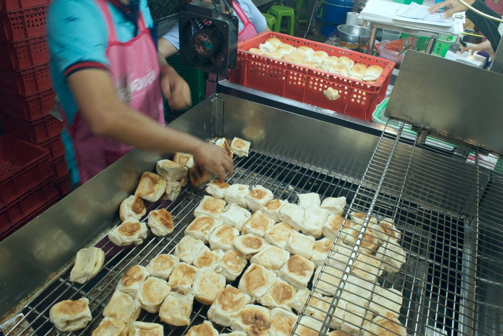 Grilled, Dessert Buns in Chinatown/Courtesy of Kelly Iverson
