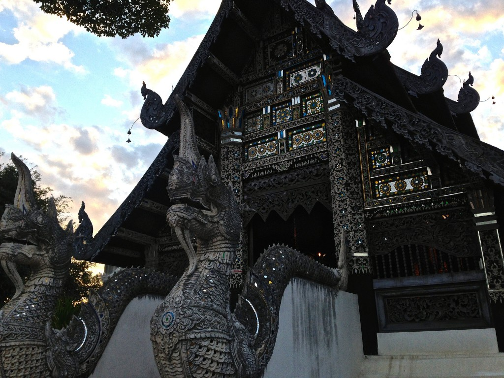 Temple in Chiang Mai/Courtesy of Kelly Iverson