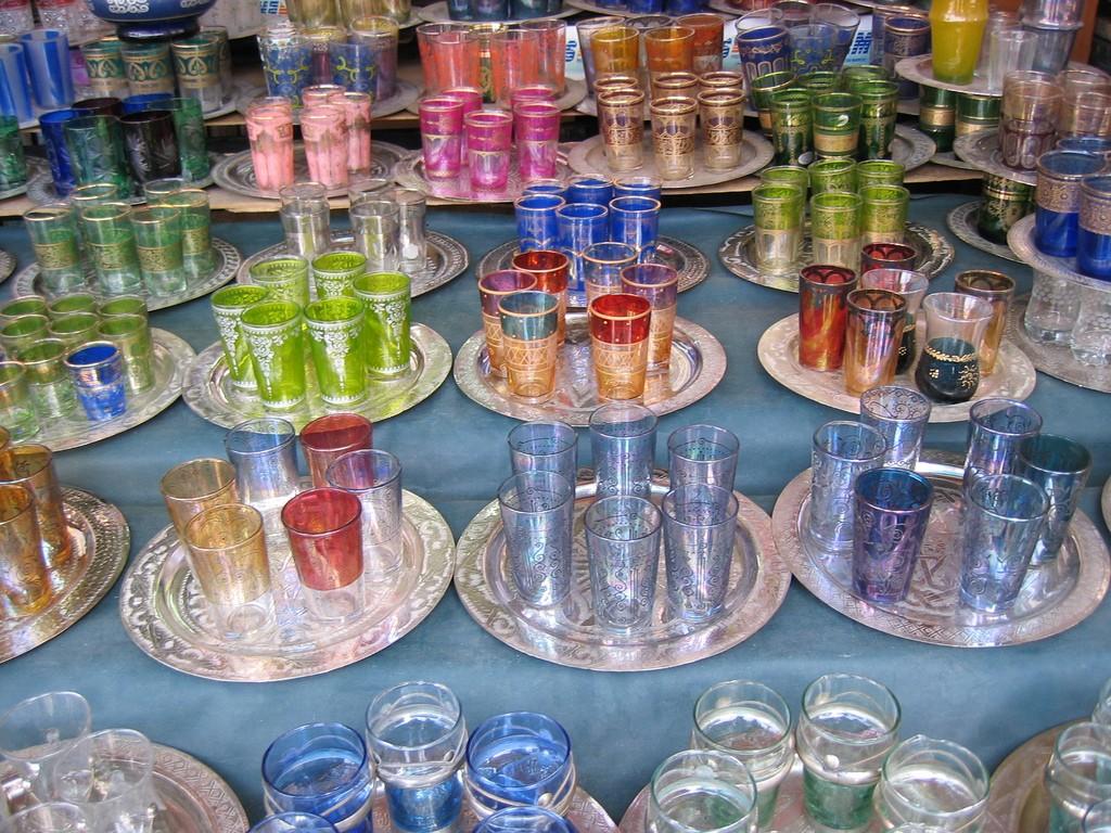 Tea glasses | © Sherwood/Flickr