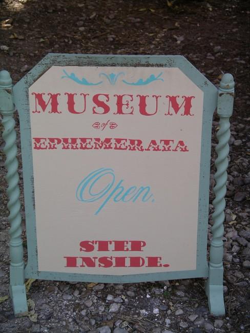 Museum of Natural & Artificial Ephemerata © Dixie Wells/Flickr