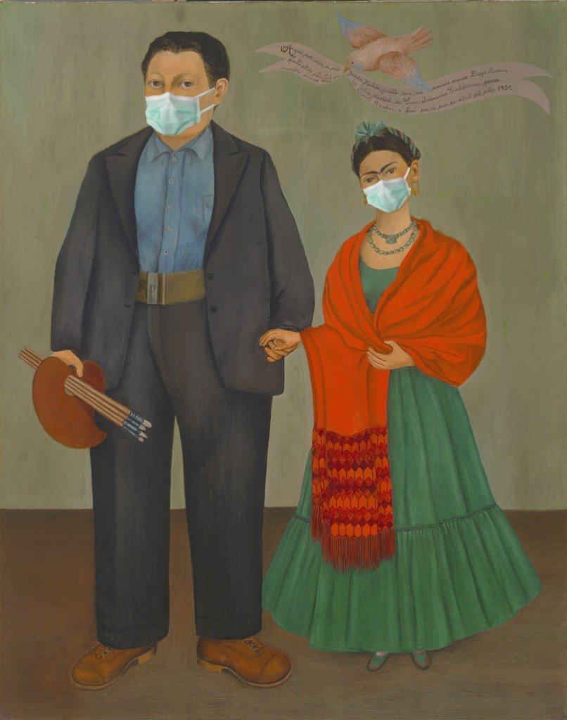 Frieda y Diego Rivera  © Amio Cajandar/Flickr