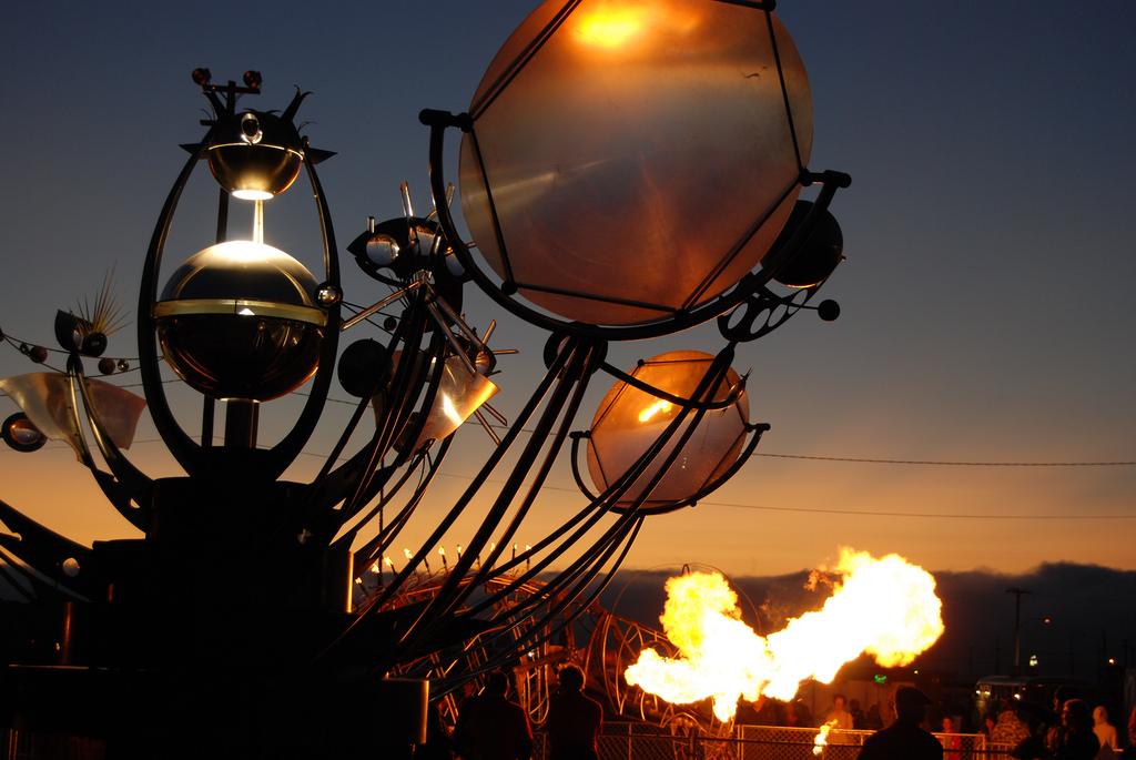 Fire Arts Festival at The Crucible © chris rosakranse/Flickr