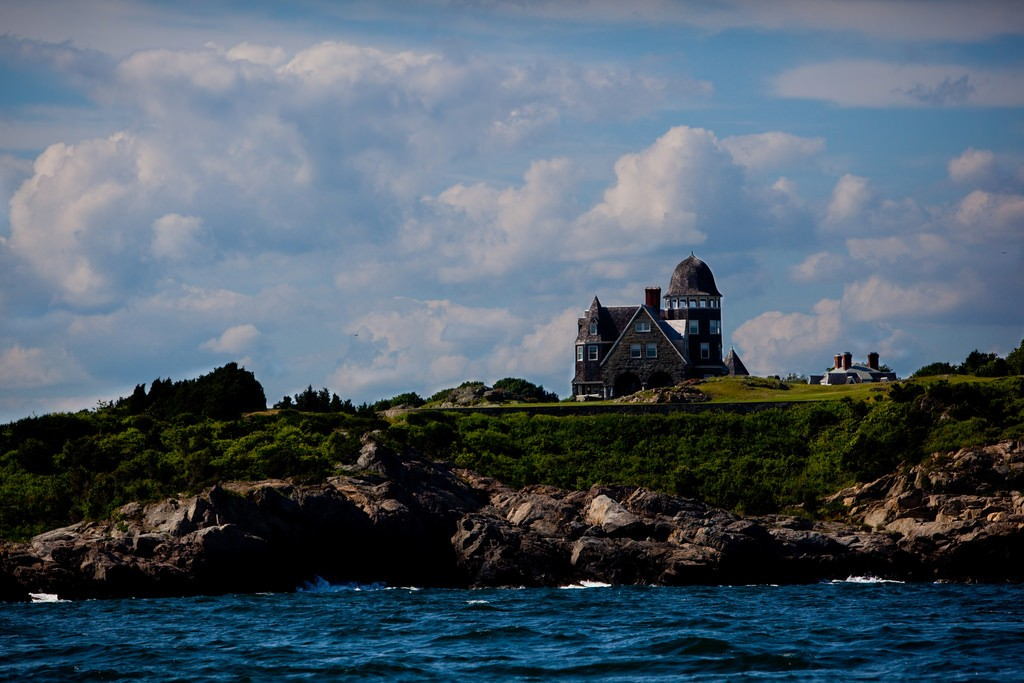 House in the water Newport Rhode Island | © Anthony Quintano/Flickr