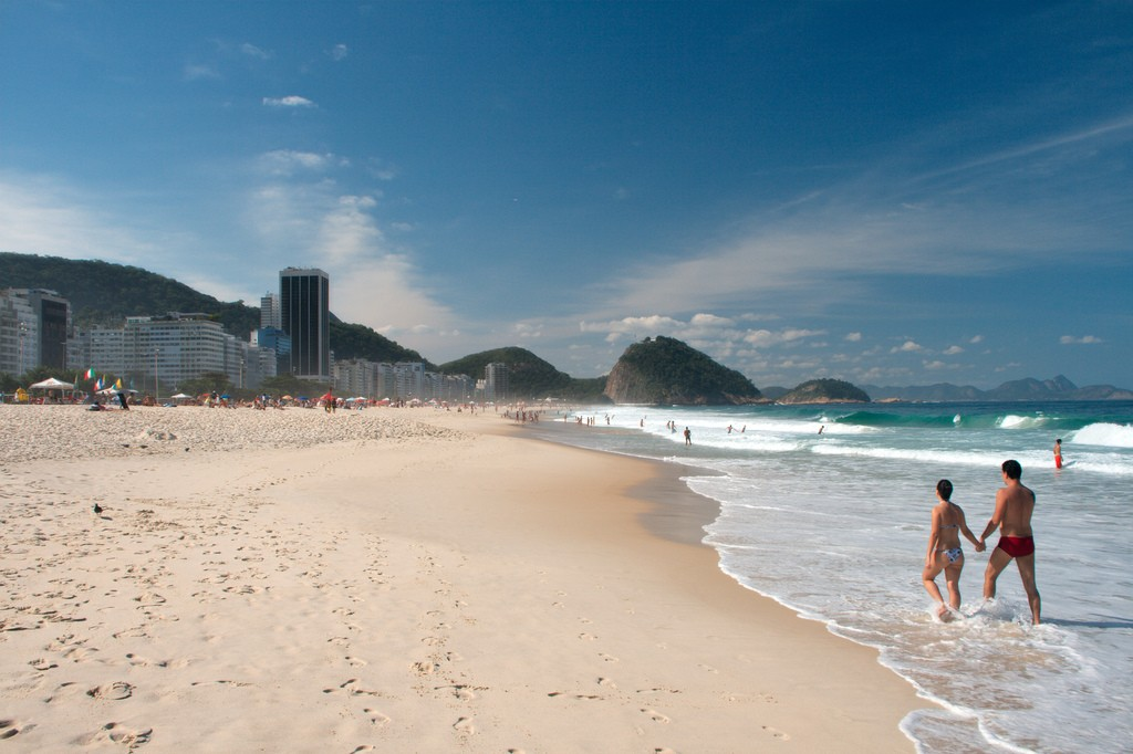 Copacabana beach |© Christain Haugen/WikiCommons