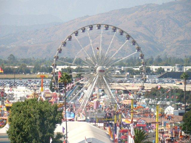Ferris Wheel at LA County Fair ©vmiramontes/Flickr