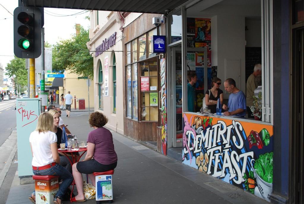 Shopfront - Demitri's Feast ©Alpha