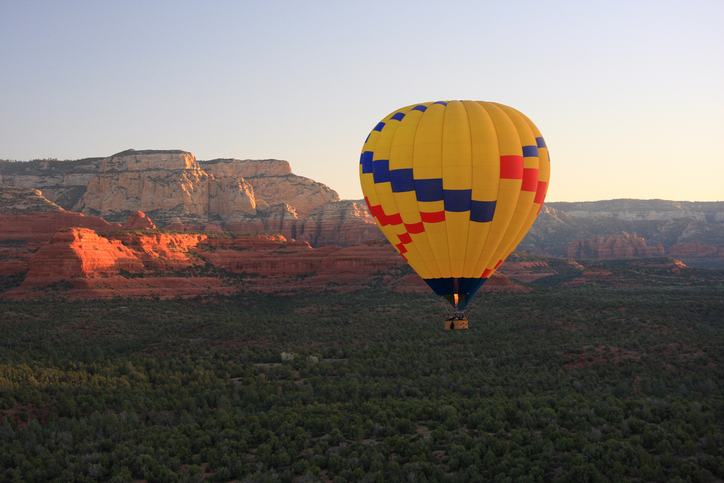 Hot Air Balloon Ride - Sedona | © Thales/Flickr