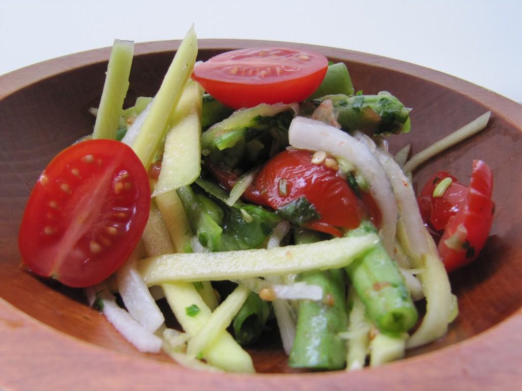 Thai green mango salad | Courtesy of Jo del Corro