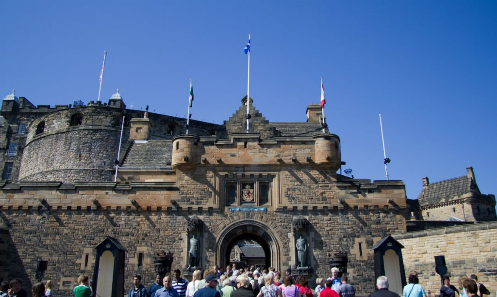 Edinburgh Castle | © Ian Dick/Flickr