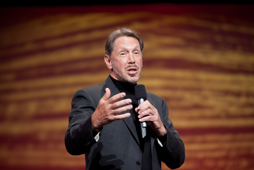 Larry Ellison © Oracle PR/Flickr