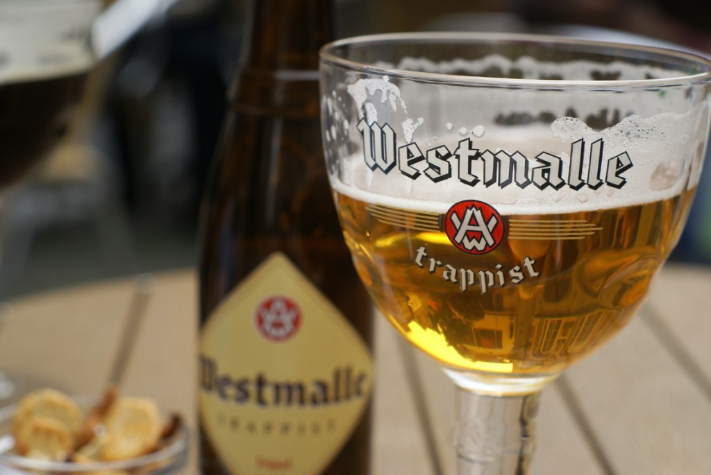 The Westmalle Tripel, a Trappist beer famous for popularizing the term 'triple'   © Georgia/Flickr