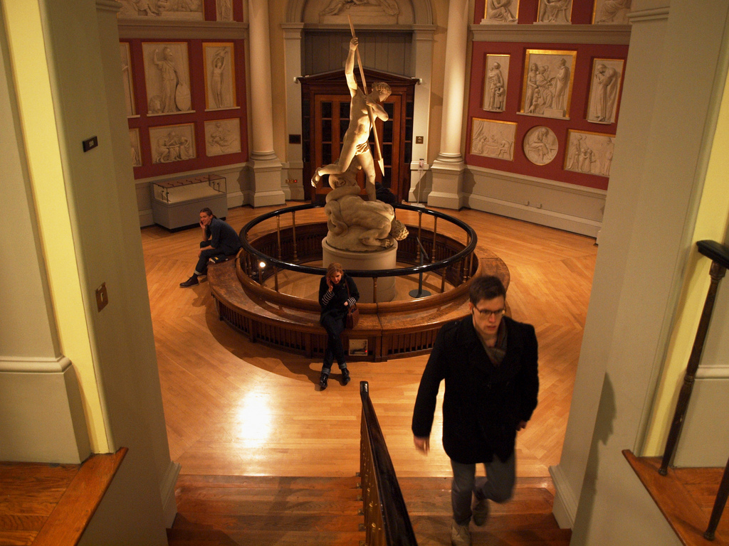The Flaxman Gallery, UCL Main Library  ©SomeDriftwood/Flickr