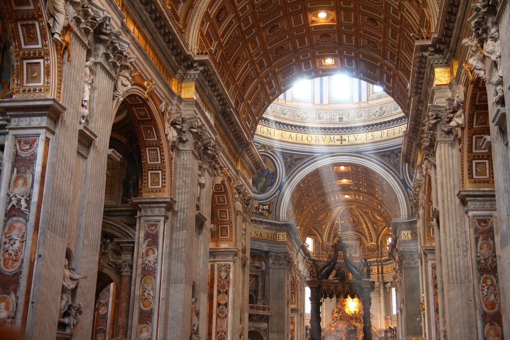 It is believed that St. Peter was buried under the Basilica | Ed Brambley/Flickr