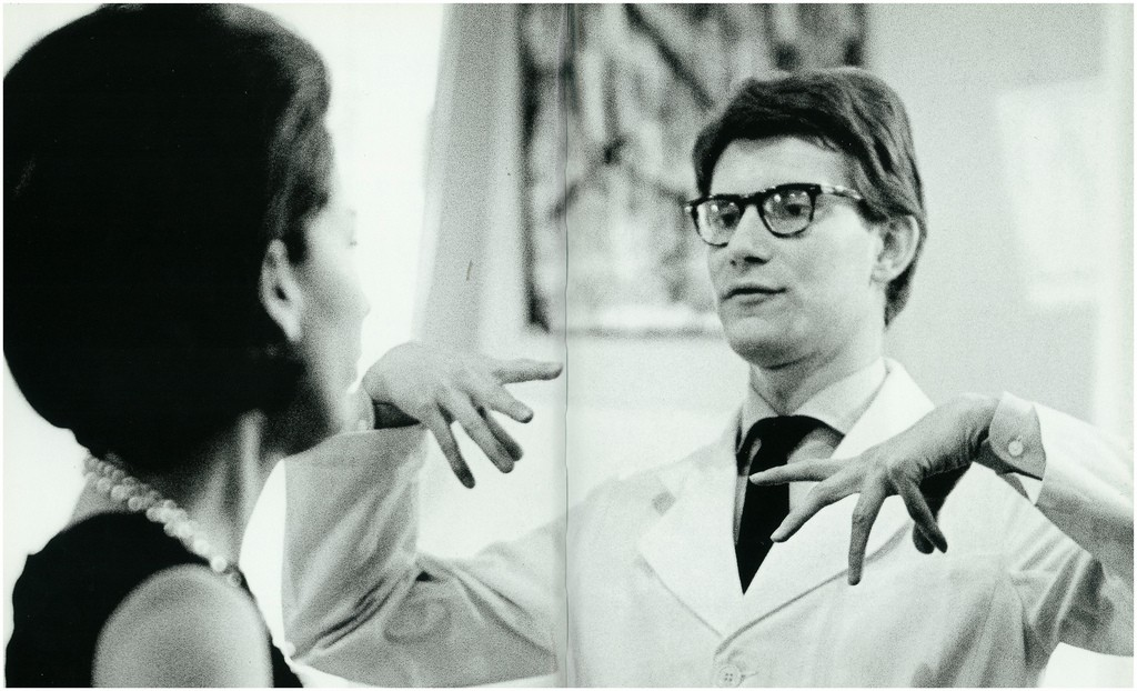 Yves Saint Laurent in 1962 (2) © Victor Soto/Flickr