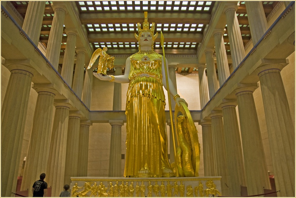 © Athena--The Parthenon Nashville, Ron Cogswell/Flickr