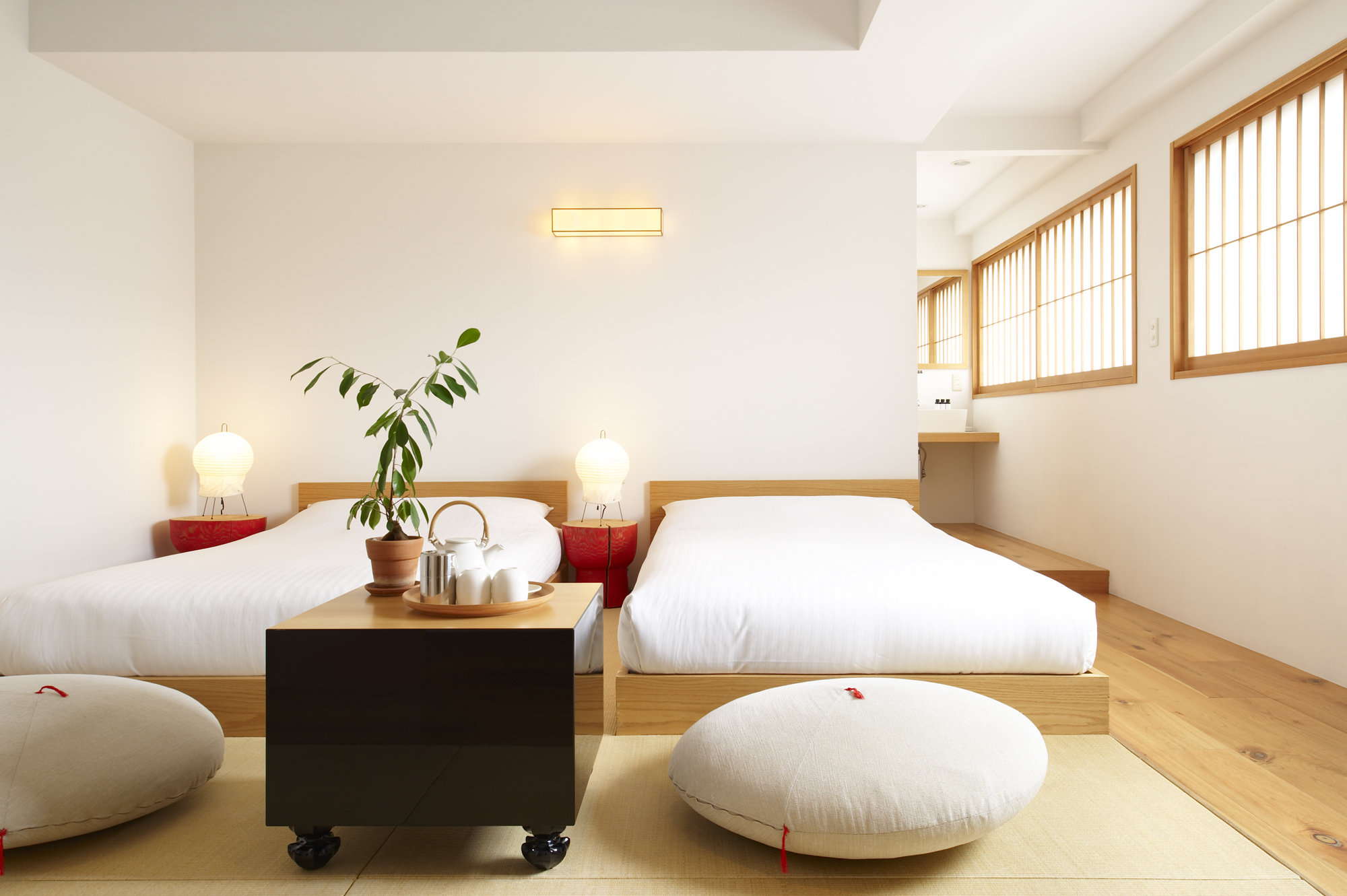 5 best boutique hotels in tokyo for Design hotel japan