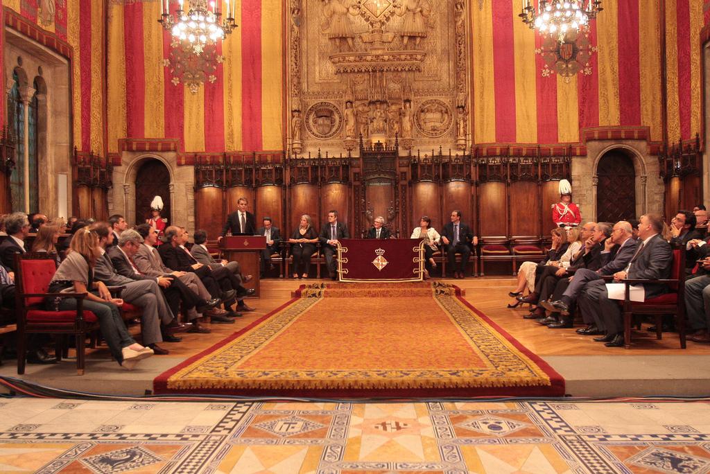 The pregò de la Mercè in 2011 | © Ajuntament Barcelona / Flickr