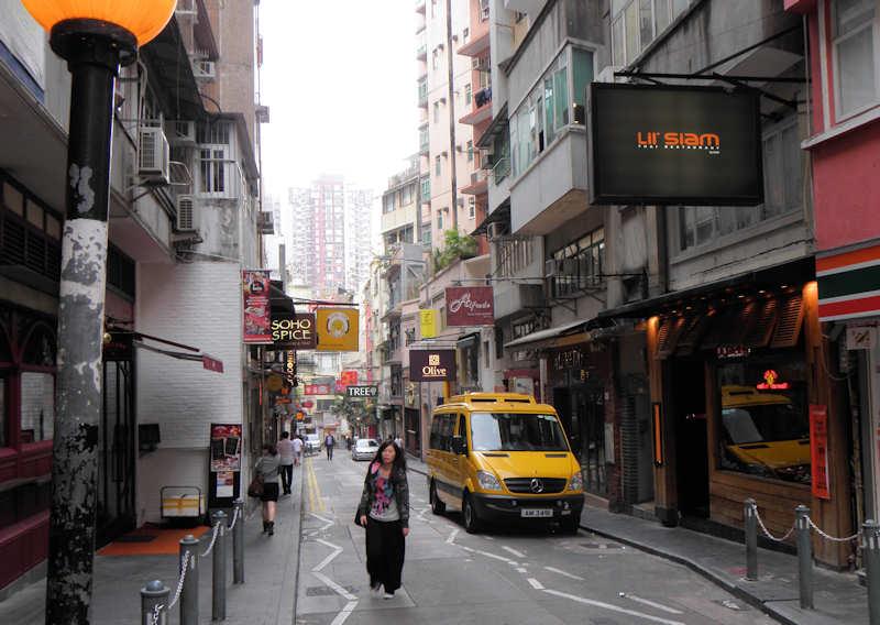 SoHo, Hong Kong   Hanumann/CC BY 2.0/Flickr
