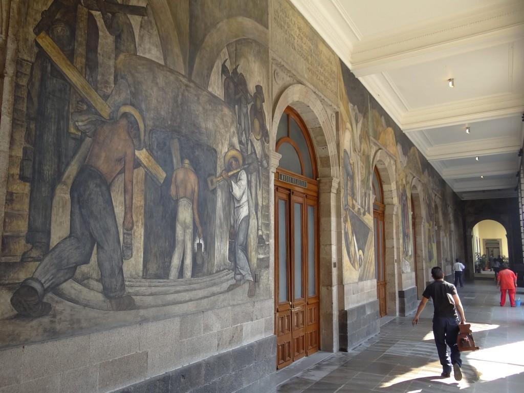 Diego Rivera murals - La Secretaria de Educación Pública | © Adam Jones/Flickr