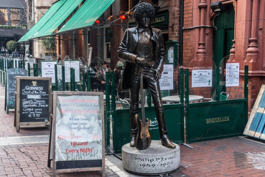 Phil Lynott by | © William Murphy/Flickr