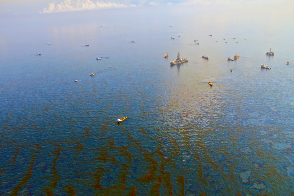Day 30 of Deepwater Horizon oil spill in the Gulf of Mexico, 2010 | © Green Fire Productions/Flicker