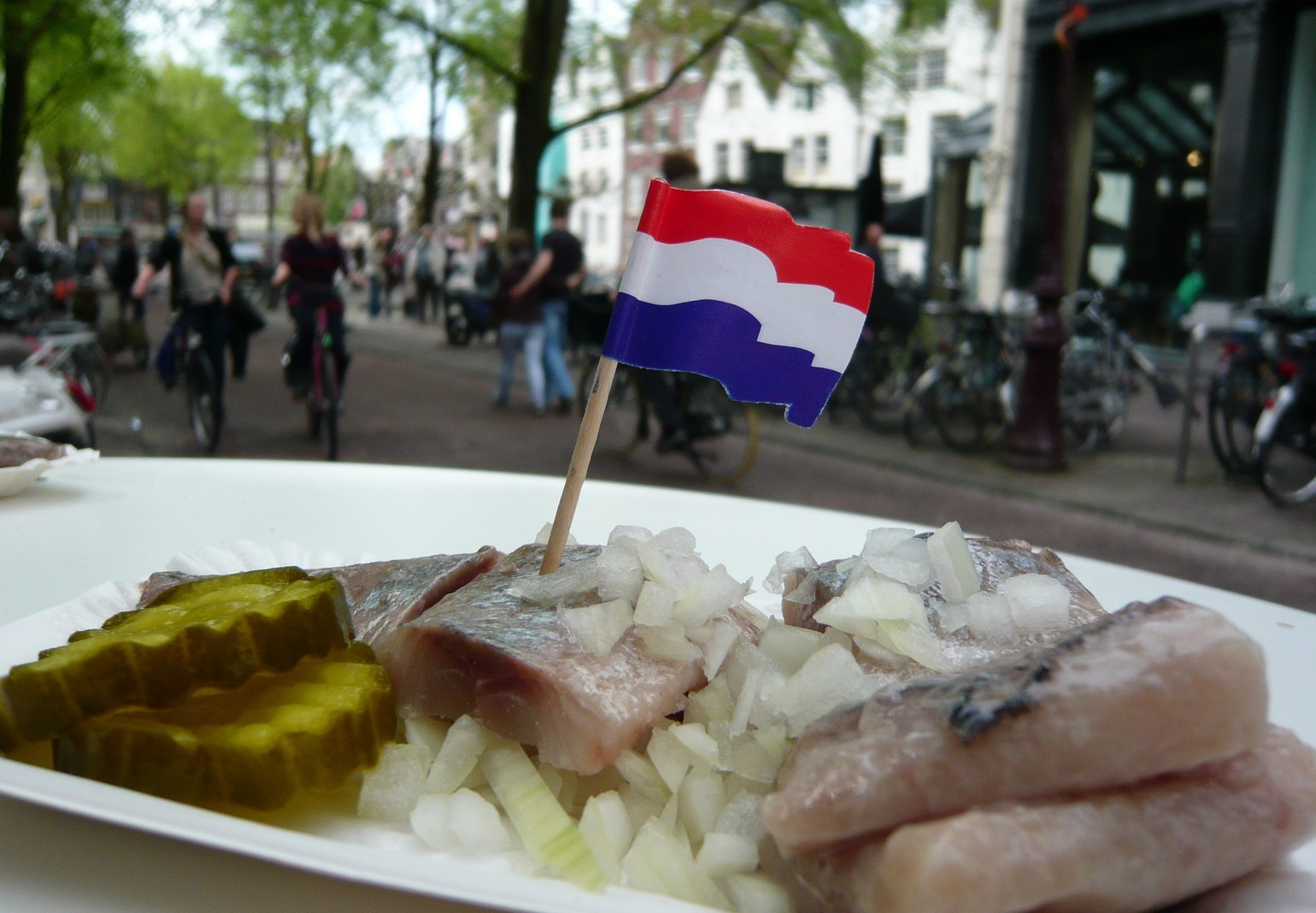 A History Of Raw Herring As A Dutch Delicacy, In One Minute