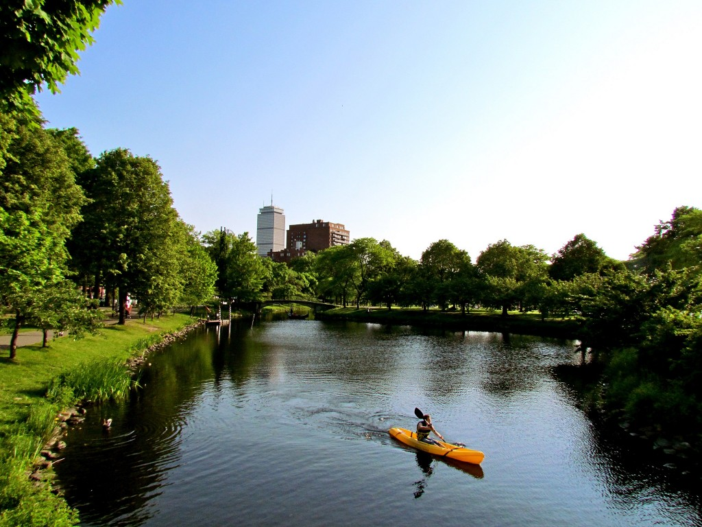 The Esplanade in Boston| ©Jeff Gunn/Flickr