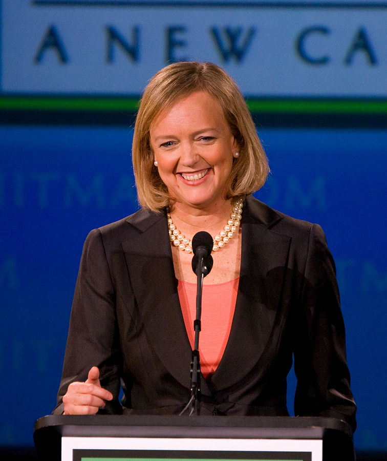 Meg Whitman © Max Morse/Wikipedia