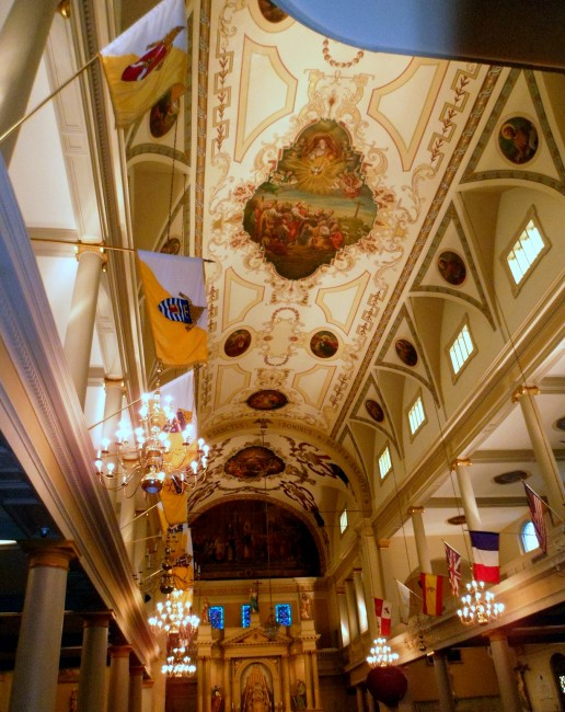 a history of the st louis cathedral in 1 minute