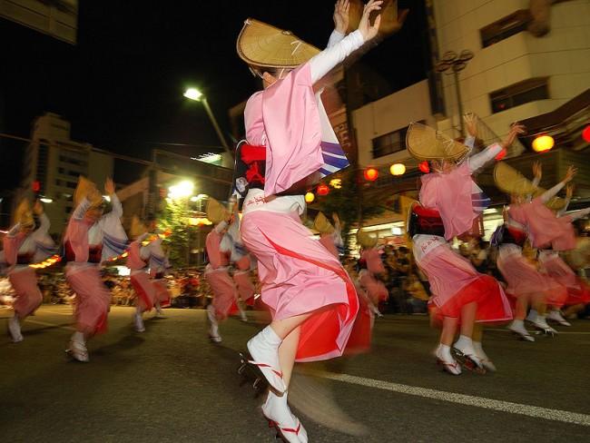 Dancers at the Awa Odori | © Toshino/WikiCommons
