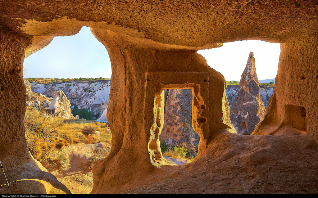 the story behind the fairy chimneys in cappadocia