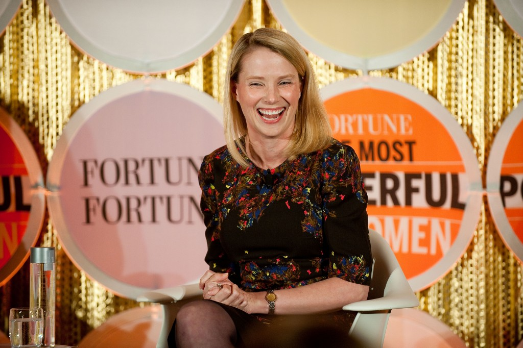 Marissa Mayer © Fortune Live Media/Flickr
