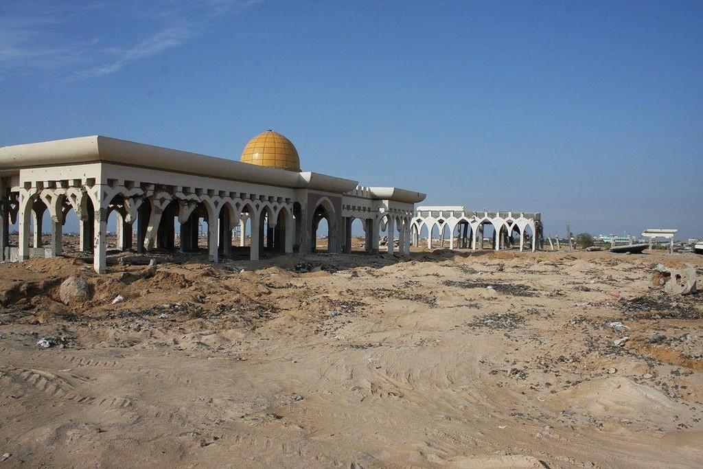 Gaza Airport © Mohammed Yousif Azaiza