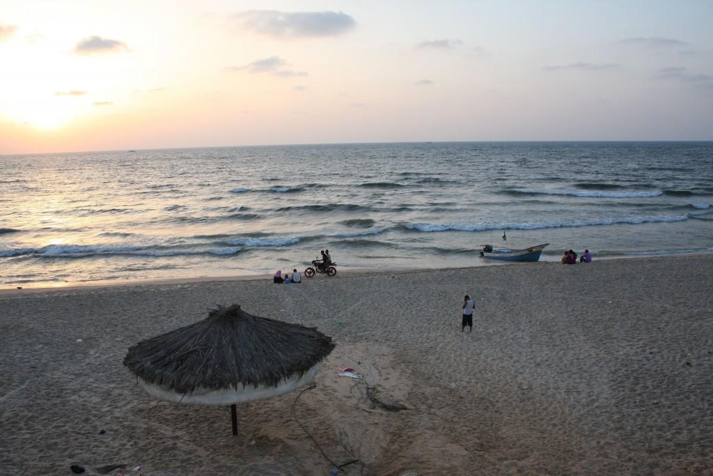 Beach in Gaza © Mohammed Yousif Azaiza