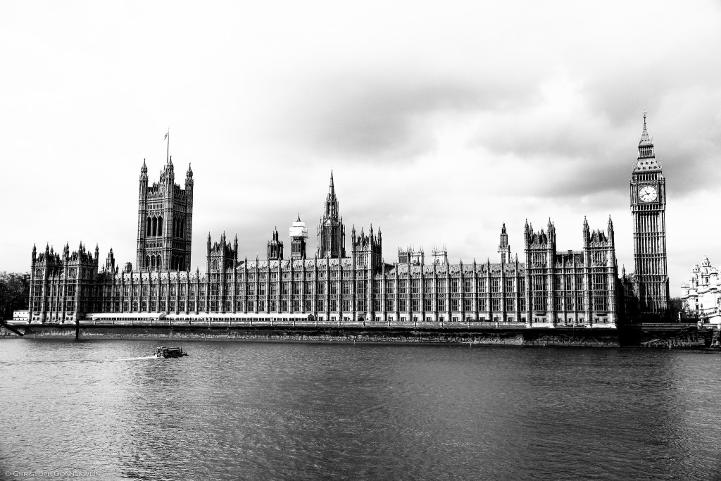 The Houses of Parliament or Palace of Westminster ©.christoph.G./Flickr