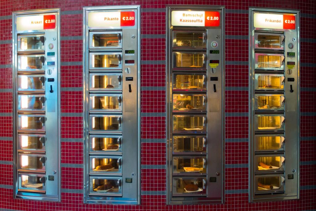 A Vending Machine Café Serving Frikandel | © André P. Meyer- Vitali / Flickr