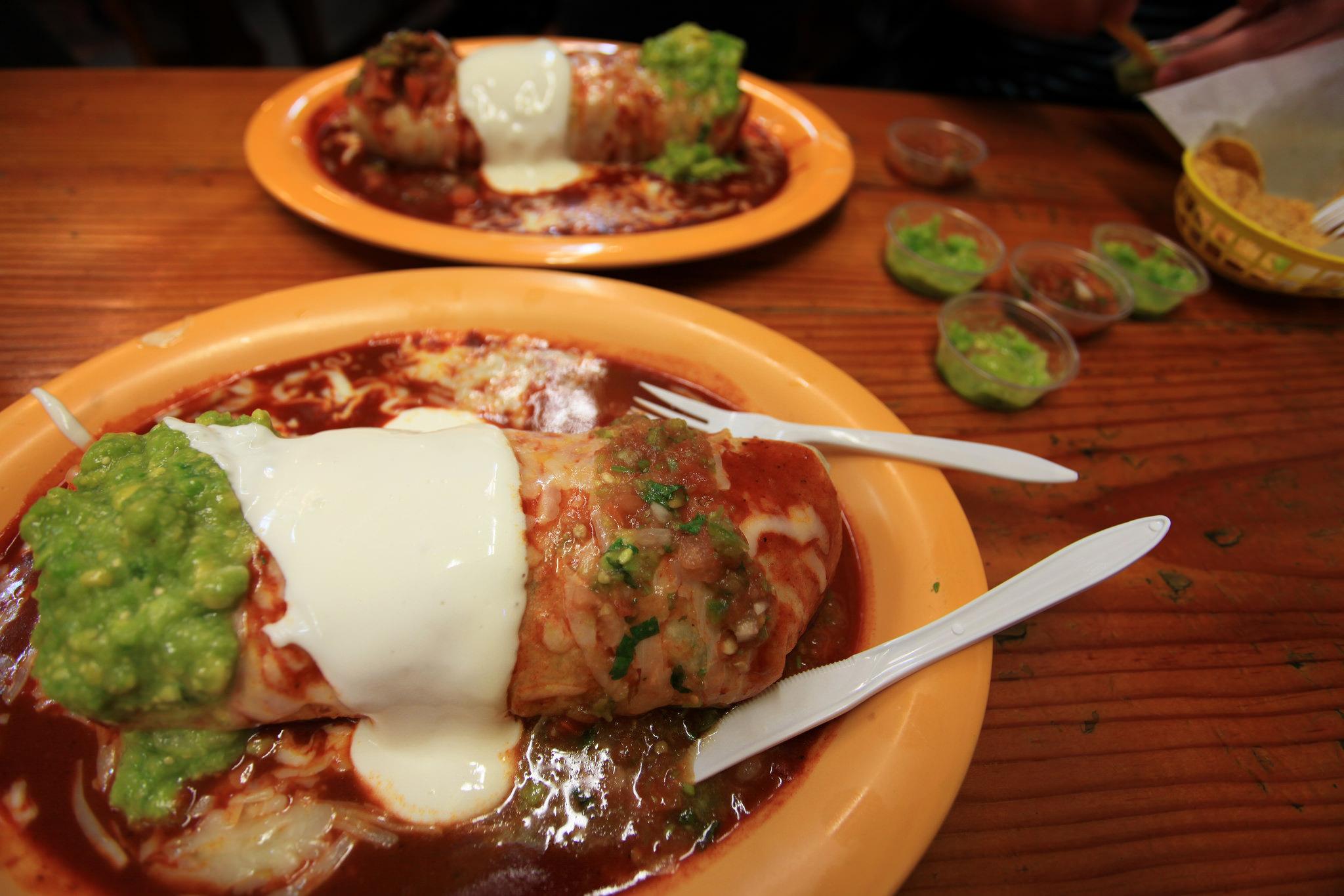 Cancun burrito © Evan Blaser/Flickr