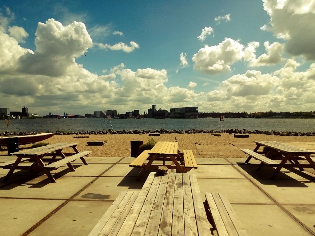 View from Pllek's waterside terrace | © BakerlooTheReal / Flickr