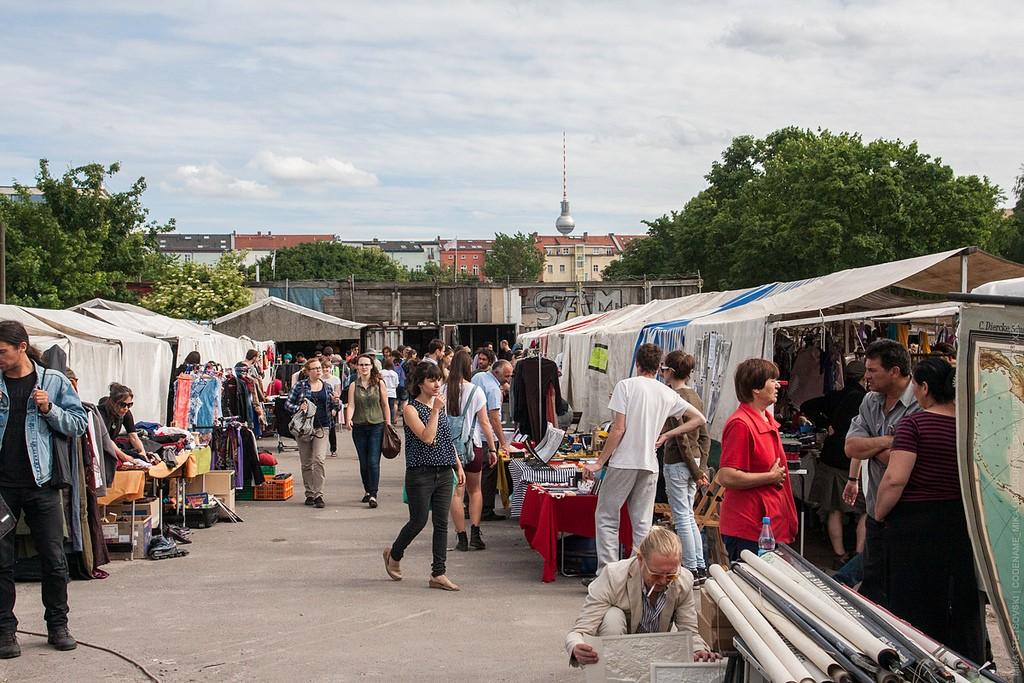 Mauerpark Flohmarkt | © Mika Stetsovski/Flickr