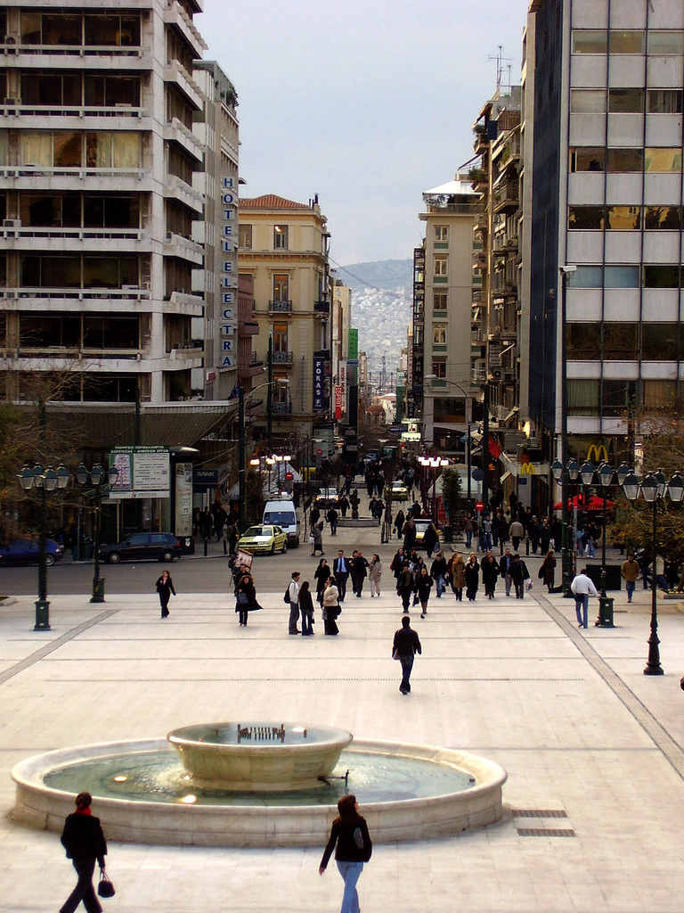 A Brief History Of Syntagma Square Athens