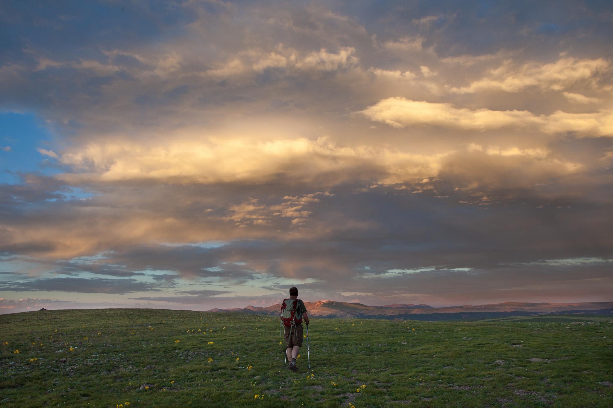 Continental Divide NST | © Bureau of Land Management/Flickr