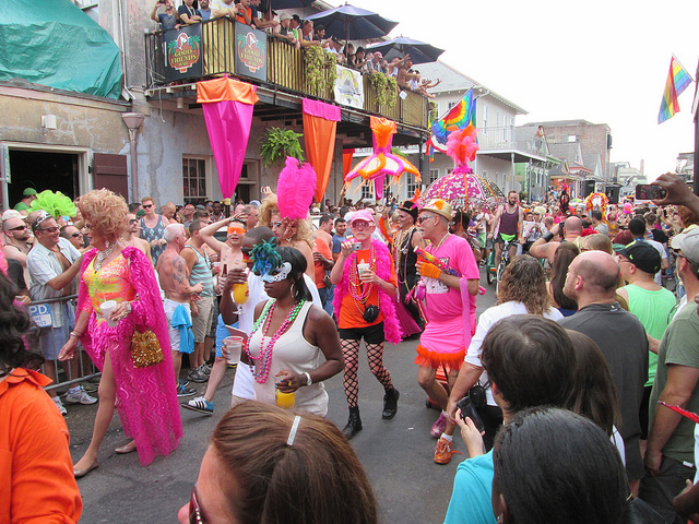 Southern Decadence, French Quarter | © Infrogmation of New Orleans/Flickr