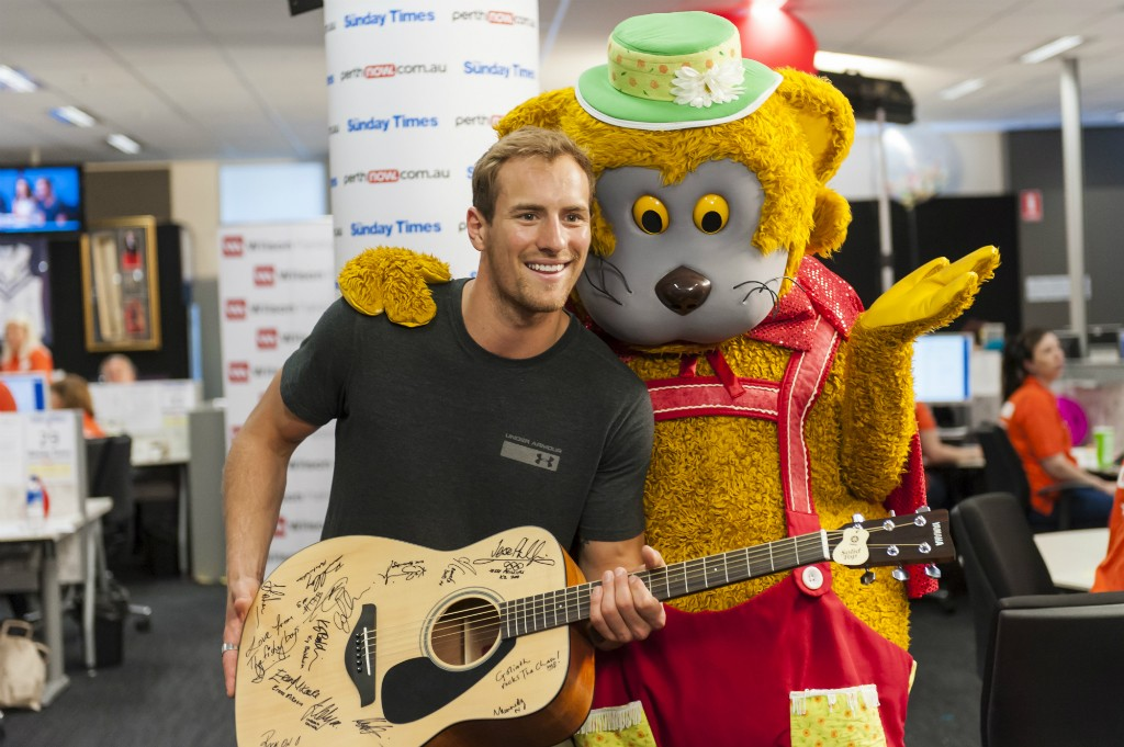 Fat Cat at Telethon 2015 | Courtesy of TelethonFat Cat at Telethon 2015 | Courtesy of Telethon
