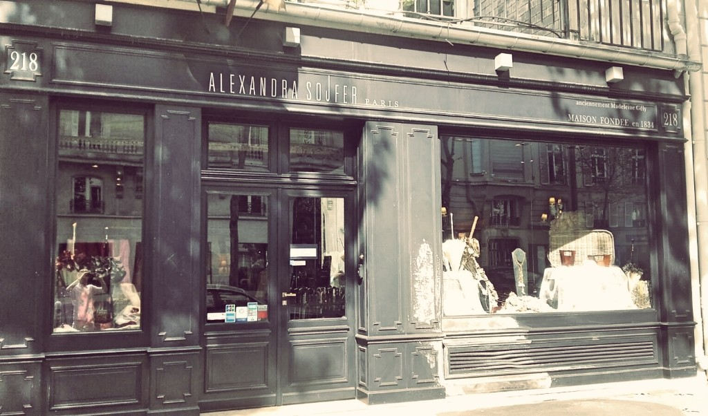 Alexandra Sojfer store Saint-Germain │ Courtesy of Paul McQueen